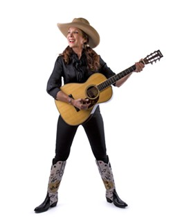 COWGAL! :  Western sensation Juni Fisher plays Bon Temps Creole Café on May 20 and The SLO Down Pub on May 23. - PHOTO COURTESY OF JUNI FISHER
