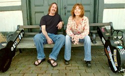 SMART CAPPS :  Annie and Rod Capps, a Michigan folk duo with a soulful groove and Midwestern twang, play the Clubhouse on April 25. - PHOTO COURTESY OF ANNIE AND ROD CAPPS