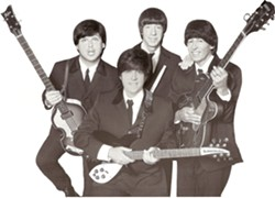 THE FAB FACSIMILE :  On Jan. 30, see Yesterday—A Tribute to the Beatles at the Clark Center. - PHOTO COURTESY OF YESTERDAY