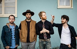 AMERICANA AFTERNOON:  Old-time folksters Goodnight, Texas will play a laid-back afternoon set accompanied by local fave Jade Jackson on Dec. 14, at the Santa Margarita Peace Sign House. - PHOTO COURTESY OF GOODNIGHT TEXAS