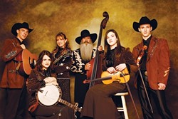 "ALL IN THE FAMILY :  America's ""First Family of Bluegrass,"" the multi-Grammy nominee Cherryholmes, plays March 19 in the Spanos Theatre. - PHOTO COURTESY OF CAL POLY ARTS"