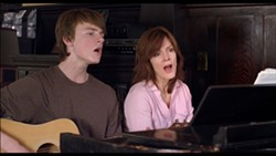 STRIKING A CHORD:  Mother and son duo Laura (Maggie Baird) and Shane (Finneas O'Connell) find common ground in music in 'Life Inside Out.' - PHOTO COURTESY OF WENDY EIDSON/SLOIFF
