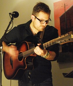 BACK PORCH MUSIC:  Tooth & Nail Winery hosts a Good Medicine Presents a pop-up concert on Jan. 8 with acoustic pop artist Kenny Taylor. - PHOTO COURTESY OF KENNY TAYLOR