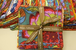 I FOLD :  New SLO business Picking Daisies has found a niche selling washable, colorful, cloth napkins. - PHOTO PROVIDED BY PICKING DAISIES