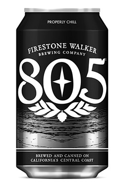 LOCAL PHENOM:  The easy-drinking, craft-brewed 805 blonde ale is taking Firestone Walker Brewing Company to another level. The Paso beer-maker has plans for another expansion in the works, and Belgium's Duvel Moortgat Brewery signed on to help. - PHOTO COURTESY OF FIRESTONE WALKER