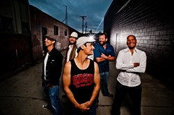ROCKIN' REGGAE :  Cali rock and reggae act One Drop plays Oct. 22 at SLO Brew. - PHOTO COURTESY OF ONE DROP