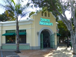 THE SHOP AROUND THE CORNER:  Spencer Makenzie's opened on March 16 and offers a medley of seafood tacos and burritos. - PHOTO BY ADRIANA CATANZARITE