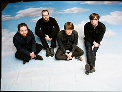 CUTIES? :  Death Cab for Cutie (pictured) hits Cal Poly's Rec Center on Oct. 27, touring in support of Narrow Stairs, their edgiest record to date. Matt Costa and band will open the show. - PHOTO COURTESY OF DEATH CAB FOR CUTIE