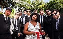 SWEET SOUL:  The soul-tinged Suffers will travel from Houston, Texas, for the third annual event. - PHOTO COURTESY OF TYLER MASON/HARVESTMOON INC.
