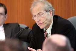 WELCOME ABOARD:  New SLO Council Member, John Ashbaugh - PHOTO BY STEVE. E. MILLER