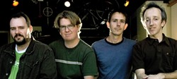 THEY HAVEN'T AGED A DAY :  Twenty years after rising to glory, Toad the Wet Sprocket—(left to right) Todd Nichols, Dean Dinning, Glen Phillips, and Randy Guss—returns on March 14 at Downtown Brew. - PHOTO COURTESY OF TOAD THE WET SPROCKET