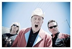 HOLY HEAT WAVE! :  The Reverend Horton Heat brings his psychobilly roadside revival to SLO Brew on July 11. - PHOTO COURTESY OF REVEREND HORTON HEAT