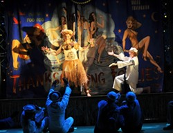 """""""THERE'S NOTHIN' LIKE A DAME"""" :  Rodgers & Hammerstein's Broadway favorite South Pacific comes to Performing Arts Center's Cohan Center on Jan. 25. - PHOTO BY PETER COOMBS"""