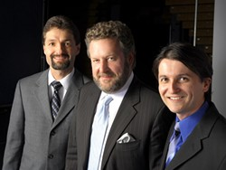 THE TIGHTEST BAND IN THE WOOOOORLD! :  Extra tight jazz combo, the Jeff Hamilton Trio, is the first non-Cuesta group to perform in the new CPAC (cultural and performing arts center at Cuesta College) on Nov. 23. - PHOTO COURTESY OF THE JEFF HAMILTON TRIO