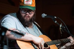 TRUE GRIT:  Crazy-good Oklahoma singer-songwriter John Moreland plays Nov. 16 at Frog and Peach and Nov. 17 at Dunbar Brewing. - PHOTO COURTESY OF JOHN MORELAND