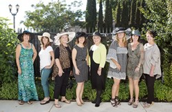 WIG LOVE:  Hats for Hope's board is on a mission to make sure everyone on the Central Coast who has gone through chemotherapy has access to some sort of wig, hat, or head covering. - PHOTO COURTESY OF HATS FOR HOPE