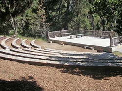 THE NATURAL WAY :  Camp Ocean Pines recently completed its outdoor amphitheater, and its very first concert happens on June 10 with Severin Browne and a dozen other performers. - PHOTO COURTESY OF CAMP OCEAN PINES & SEVERIN BROWNE