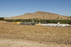 A FRACKING INJECTION INSTALLATION IN MONTEREY COUNTY.:  Monterey shale is under much of Central California and could hold as much as 15 billion barrels of recoverable oil. - PHOTO BY STEVE E. MILLER