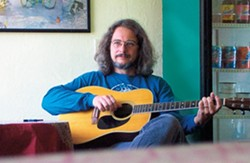 JERRY'S KID :  David Gans is perhaps best known as the host of the internationally syndicated Grateful Dead Radio Hour, but on Nov. 14, he'll appear at Linnaea's Cafe to support his new album The Ones that Look the Weirdest Taste the Best. - PHOTO COURTESY OF DAVID GANS