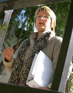 """PARKS DIRECTOR:  Betsy Kiser said the city follows """"very strict procedures"""" in seizing the possessions of homeless people. - FILE PHOTO"""