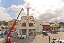 HAPPY DAYS:  Atascadero's new movie theater is slated to open in conjunction with the San Luis Obispo International Film Festival. - PHOTO BY STEVE E. MILLER