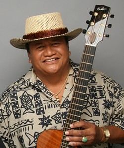 ALOHA! :  Coalesce Bookstore presents Hawaiian multi-instrumentalist Led Kaapana in concert on Aug. 28. - PHOTO COURTESY OF LED KAAPANA