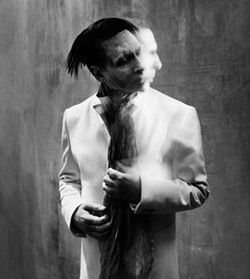 PALE EMPEROR:  Marilyn Manson brings his dark sounds to Vina Robles Amphitheatre on Oct. 23. - PHOTO BY NICHOLAS ALAN COPE