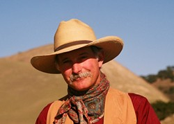 COMES A HORSEMAN:  Raconteur and troubadour Dave Stamey brings his award-winning narrative Western music to Coalesce Bookstore on Jan. 9. - PHOTO COURTESY OF DAVE STAMEY