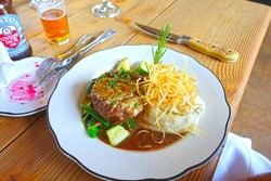 FILET OF BEEF:  So tender is this filet of beef that it nearly melts in your mouth. - PHOTO BY GLEN STARKEY