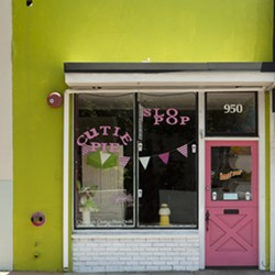 SOME POP IN YOUR LIFE :  Get your cotton candy and gourmet popcorn fix in downtown SLO. - PHOTO BY STEVE E. MILLER