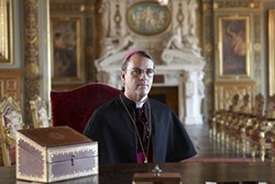 CRISIS IN FAITH:  Jewish Cardinal tells the tale of Jean-Marie Lustiger—A Frenchman, who was born a Jew, but converted to Catholicism and became Archbishop of Paris. - PHOTOS COURTESY OF FILM MOVEMENT