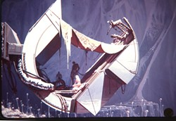 THE FUTURE IS NOW!:  A free screening of Visual Futurist: The Life and Art of Syd Mead takes place at the San Luis Obispo Museum of Art, 1010 Broad St., on Monday, Sept. 17 at 7 p.m. Donations will be accepted. - ARTWORK BY SYD MEAD