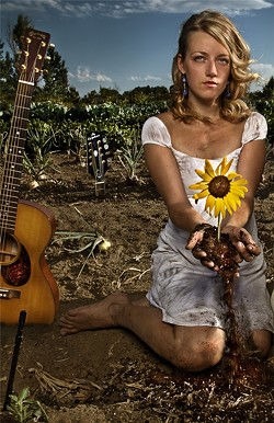 GROW :  Folk-Americana songstress Gabrielle Louise will appear at Steynberg Gallery on April 16. - PHOTO COURTESY OF GABRIELLE LOUISE
