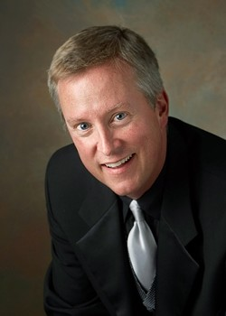 """THE EVANGELIST :  Christopher Cock will sing the role of The Evangelist in Bach's """"St. Matthew Passion,"""" presented by the Cuesta College Master Chorale on May 12 in Harman Hall of the Performing Arts Center. - PHOTO COURTESY OF CHRISTOPHER COCK"""