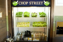 CHOP TILL YOU DROP:  Chop Street is at 779 Price St. in Pismo Beach, open daily from 11 a.m. to 8 p.m. For more information, call 295-6497.