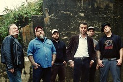COWPUNKS:  Memphis-based country punk rockers Lucero will bringing their stomping good music to SLO Brew on Nov. 20. - PHOTO COURTESY OF LUCERO