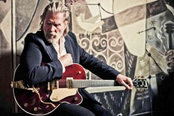 THE DUDE:  If you want to go, you better get tickets right now for Jeff Bridges & The Abiders on Feb. 21 at the Fremont Theater. - PHOTO BY DANNY CLINCH