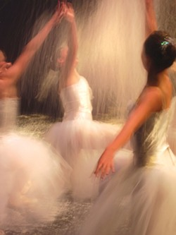 SPINNING DANCERS: - PHOTO BY CRAIG SHAFER