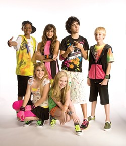 FRIEND'S DON'T LET FRIENDS WEAR NEON :  Kidz Bop Live comes to the Madonna Inn Expo Center on Aug. 7. Your kids will love it! - PHOTO COURTESY OF KIDZ BOP