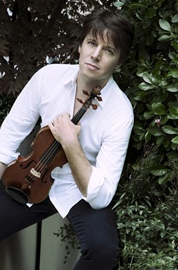 "VIRTUOSO:  Joshua Bell, referred to as the ""poet of the violin,"" plays Feb. 9 in the Cohan Center. - PHOTO BY LISA MARIE MAZZUCCO"