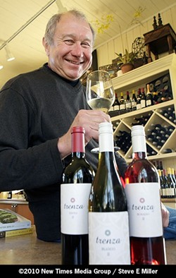 MAN OF TASTE :  Winemaker Christian Roguenant will discuss selections from the new Trenza brand from the Niven Family Wine Company devoted to Spain's wine varieties. - PHOTO BY STEVE E. MILLER