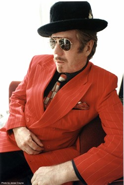 HOTTER THAN A PISTOL! :  Incredible eclectic music man Dan Hicks will appear with his band The Hot Licks on Sept. 24 in Cal Poly's Spanos Theatre. - PHOTO COURTESY OF DAN HICKS