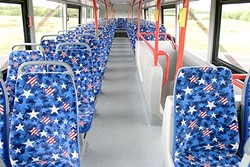 SHOULDN'T THOSE SEATS SPORT THE UNION JACK? :  Actually, no, since SLO's double deck buses will be built in California. - PHOTO COURTESY OF ALEXANDER DENNIS LIMITED