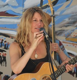 GYPSY NEWGRASS! :  Steve Key's Songwriters at Play showcase series kicks off on Aug. 2 in their newest location, Arroyo Grande's SLO Down Pub, with headliner Susan Marie Reeves. - PHOTO COURTESY OF SUSAN MARIE REEVES