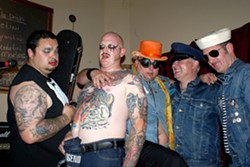 STIRRING IN YOUR PANTS :  Sexy Time Explosion brings their gay punk rock to SLO Brew on Feb. 26. - PHOTO COURTESY OF SEXY TIME EXPLOSION
