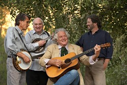 BLUEGRASS BUCKAROOS :  The Peter Rowan Bluegrass Band plays Feb. 5 at The Clark Center. - PHOTO BY TIM BENKO