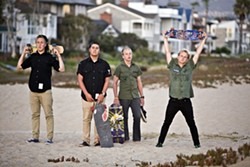 THE KIDS ARE ALRIGHT:  Pop punk juggernauts Emily's Army hit SLO Brew on Nov. 23. - PHOTO COURTESY OF EMILY'S ARMY