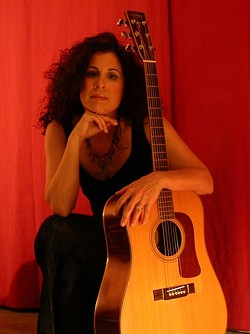 SHAKE IT :  Shakeh will bring her adult contemporary eclectic music to the Paso Wine Centre on Oct. 15. - PHOTO COURTESY OF SHAKEH