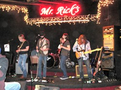"""COSMIC ROOTS! :  On May 7 at Mr. Rick's, check out The Muddy Reds, whose music """"pulls from front porch American roots, Stax-era soul, ghostly blues, and southern swamp jams."""" - PHOTO COURTESY OF THE MUDDY REDS"""