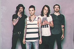 CONFESS:  Dashboard Confessional (pictured) joins forces with Third Eye Blind on July 17 at Vina Robles Amphitheatre. - PHOTO BY DAVID BEAN